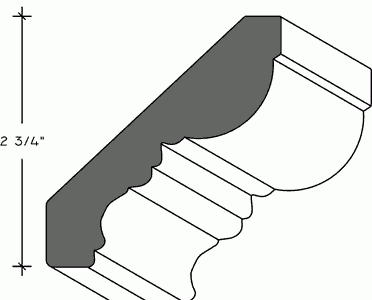 314 - Cornice - Heritage Crown Moulding