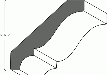302 - Cornice - Traditional Crown Moulding