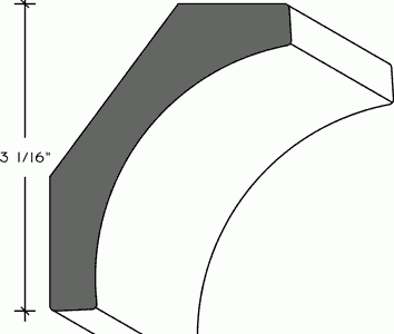 342 - Cornice - Cover Crown Moulding